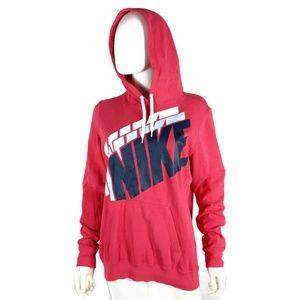 1272830ec89c Nike Sweaters - Vintage Nike Womens Hoodie Sweater Size XL Pink